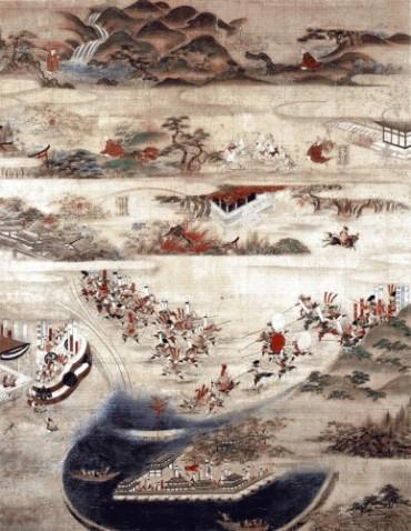 太田城水責図中世