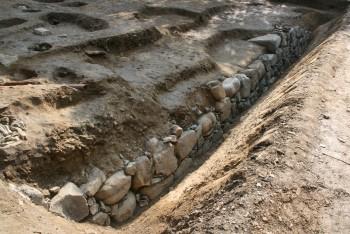 浅野期石垣(北西から)