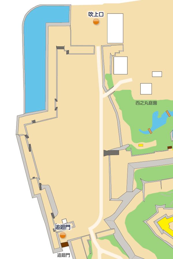 砂の丸詳細マップ