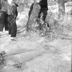 大谷古墳 発見された当時の石棺