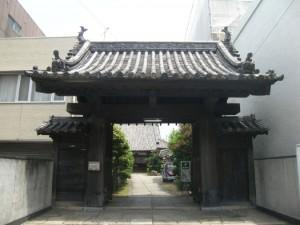 大立寺 山門
