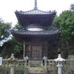 海禅院の多宝塔の写真