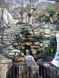 紀三井寺の三井水(清浄水)