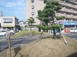 四箇郷一里塚(現在)