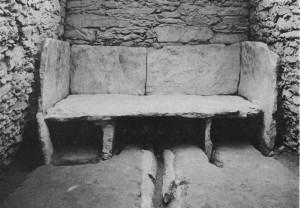 鳴滝古墳 1号墳横穴式石室内石槨