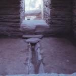 鳴滝古墳群 1号墳石室内玄門部