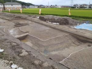 井辺遺跡 前方後方形周溝墓