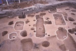 友田町遺跡 掘立柱建物