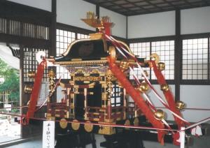 県指定文化財 神輿