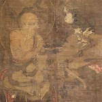 絹本著色十六羅漢像 第5幅