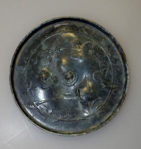旧聖社境内和鏡出土地 菊花双鳥鏡