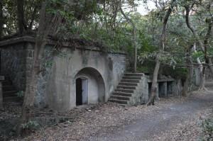 深山要塞 男良谷砲台跡