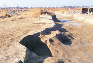 中野遺跡 溝