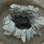 秋月遺跡 井戸瓦組下層