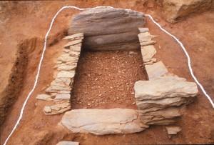 城ノ前1号墳 横穴式石室