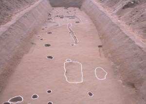 磯脇遺跡 土坑やピット