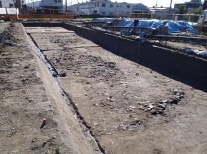 木ノ本Ⅲ遺跡 鎌倉時代の大溝