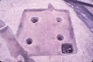 音浦遺跡 竪穴住居