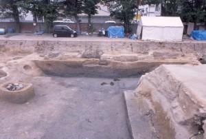 鷺ノ森遺跡 戦国時代の堀