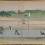 赤坂御庭図画帖 青崖埒打毬之図