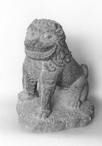 薬徳寺の狛犬