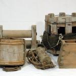 日高地域の地曳網漁用具