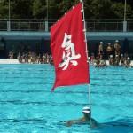 岩倉流泳法の写真