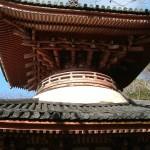 護国院(紀三井寺)多宝塔 二階部分