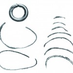 井辺1号墳 耳環・銅製品