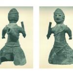 井辺八幡山古墳 角杯を背負う人物埴輪