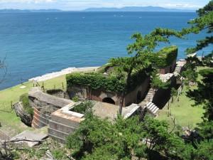 友ヶ島要塞 第2砲台跡
