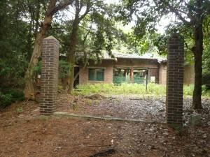 友ヶ島島要塞 第4砲台 将校官舎跡