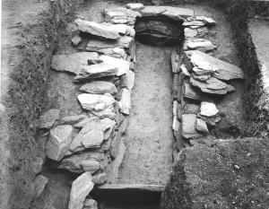井辺前山26号墳 竪穴式石室